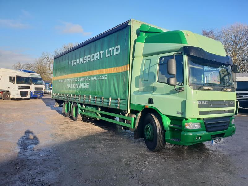 2008 DAF CF 85.410 6x2 Rear Lift Curtainside s/n - 1126