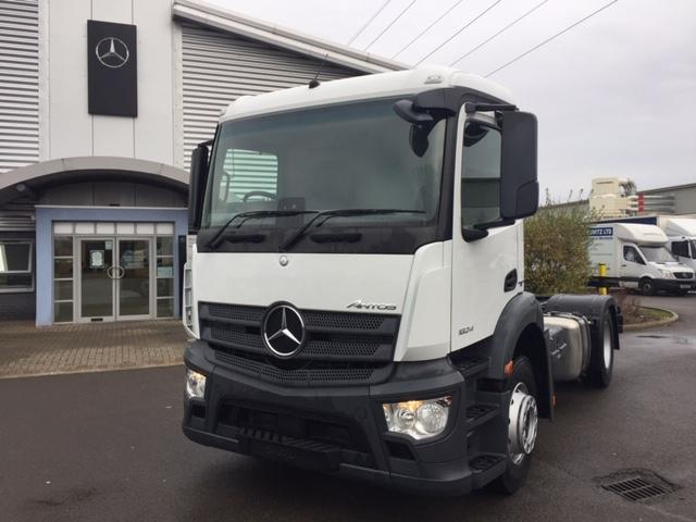 Mercedes-Benz Trucks - Antos - 2018