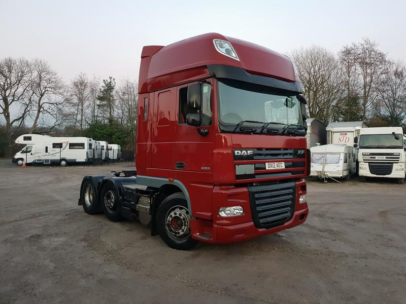 2012 DAF XF 105.460 6x2 super Spacecab