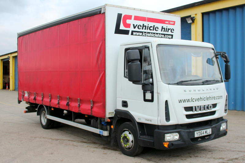 YD64 MLJ - Iveco 7.5T Curtain Sider **Euro 6**