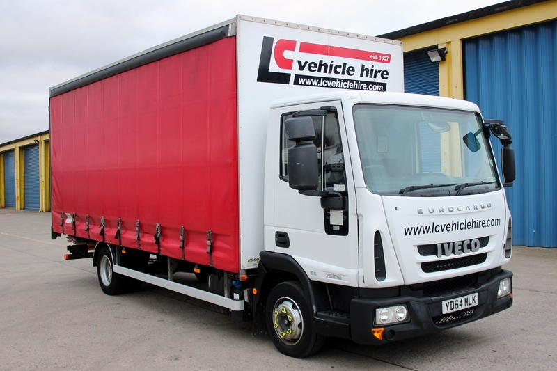YD64 MLK - Iveco 7.5T Curtain Sider **Euro 6**