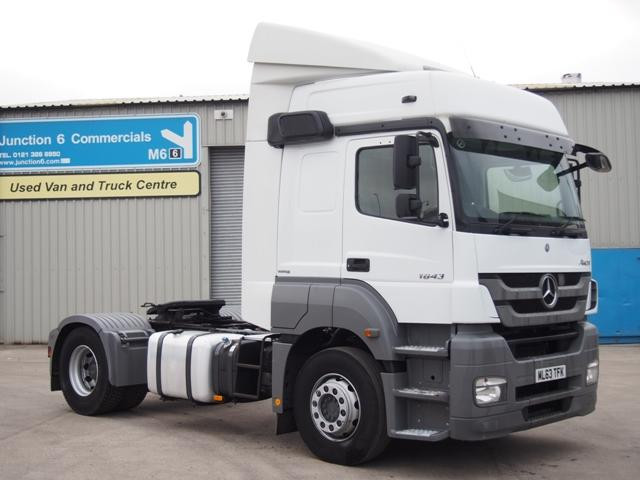 2013,63 reg Mercedes-Benz Axor 1843LS Sleeper 4x2 Tractor Unit