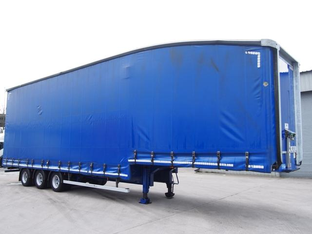 2014 Montracon 13.6m Triaxle Stepframe Double Deck Curtainside Trailer