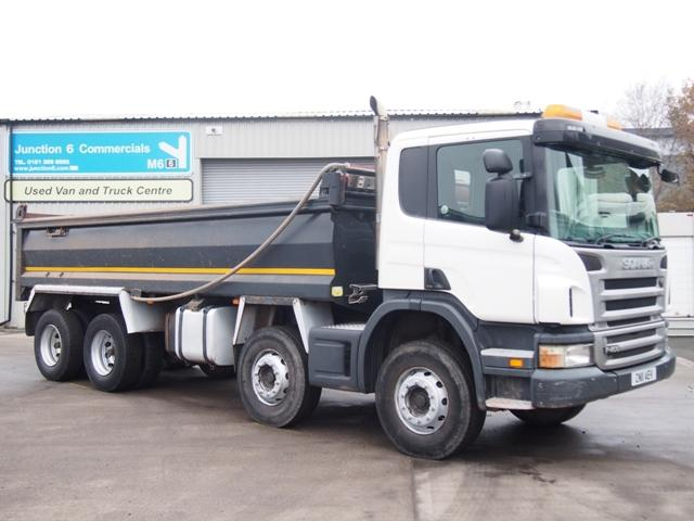 2011,11 reg Scania P400 8x4 Steel Bodied Tipper