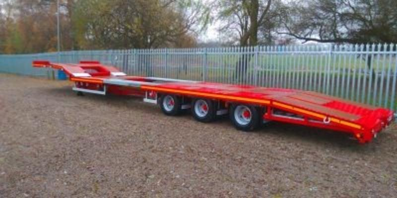 NEW DENNISON TRI-AXLE DROP FRAME EXTENDING TRACTOR CARRIER