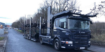 56 REDG SCANIA FITTED TRANSPORTER