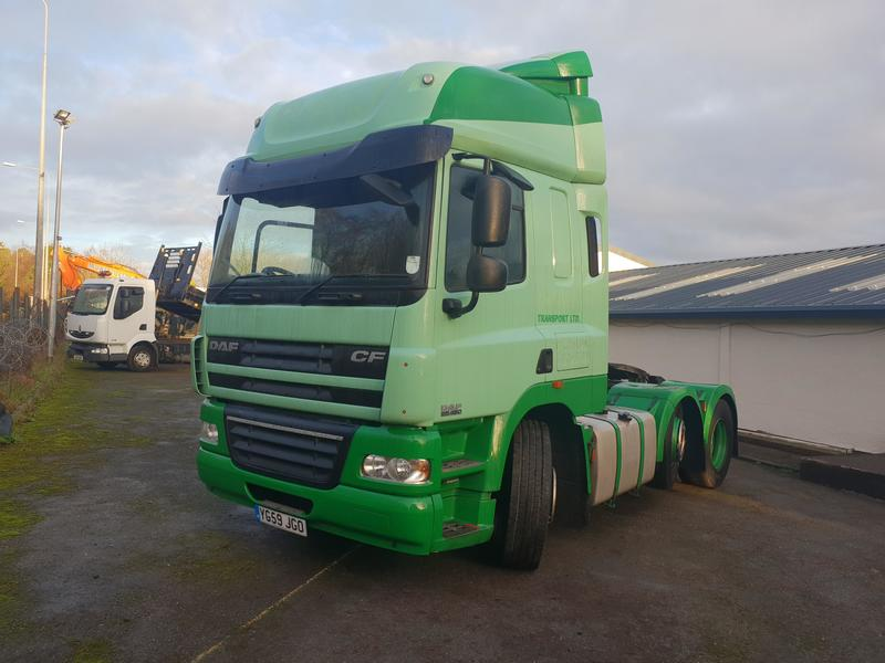 2009 DAF CF 85.460 6x2 Spacecab