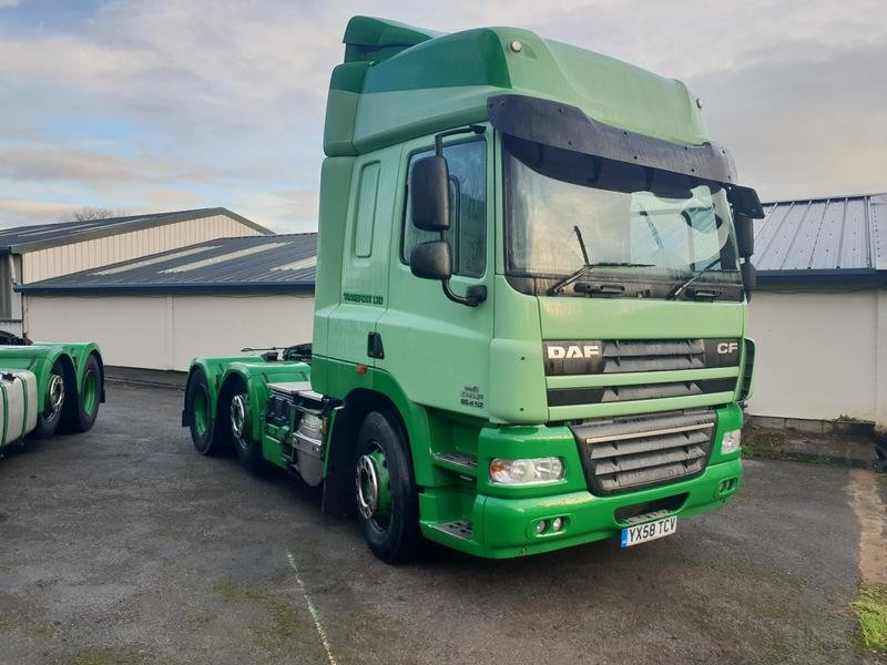 2008 DAF CF 85.410 6x2 Spacecab