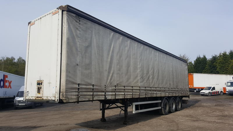 2006 Montracon 4.4m Curtainside Trailer