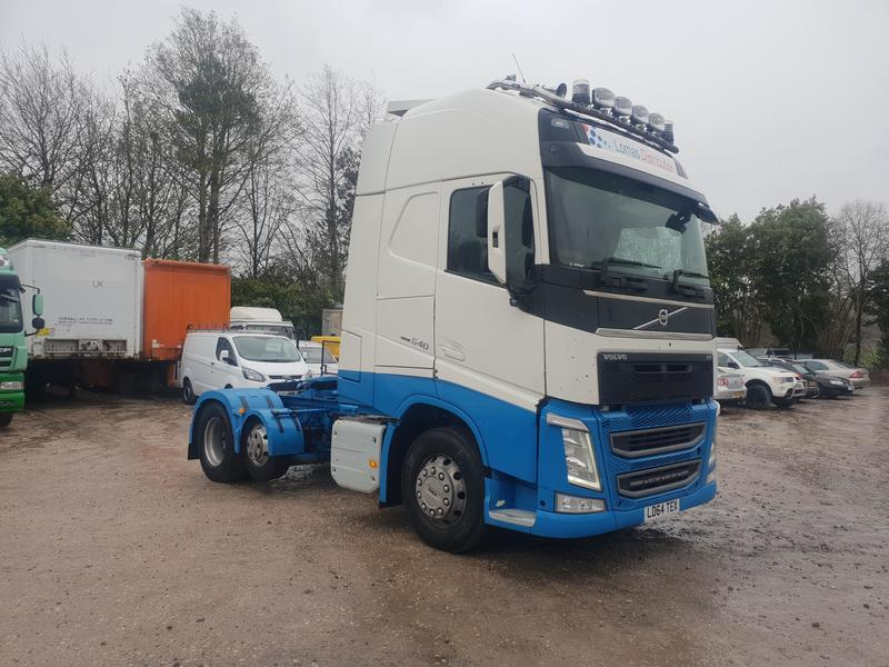 2014 (64) euro 6 Volvo FH540 Globetrotter 6x2 Midlift