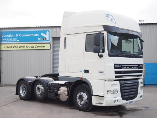 2013,13 reg DAF FTG XF105.460 ATe SuperSpace 6x2 Tractor Unit