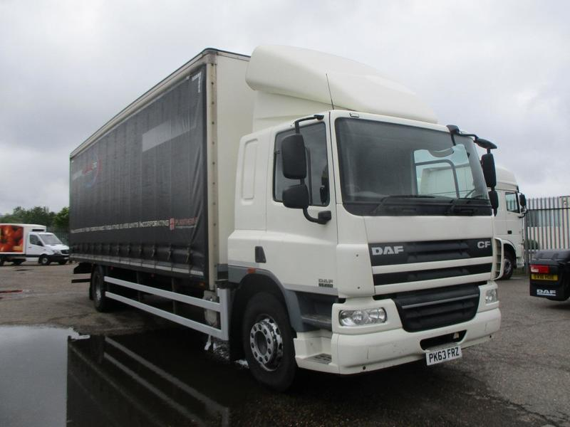 2013 (63) DAF FACF65-250, 29FT Curtainside