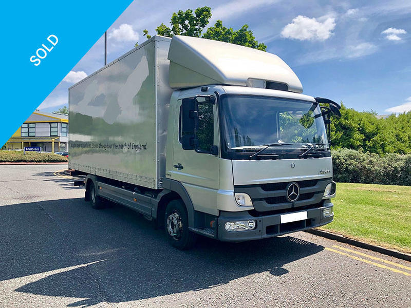 Mercedes-Benz Atego Box (DJK)