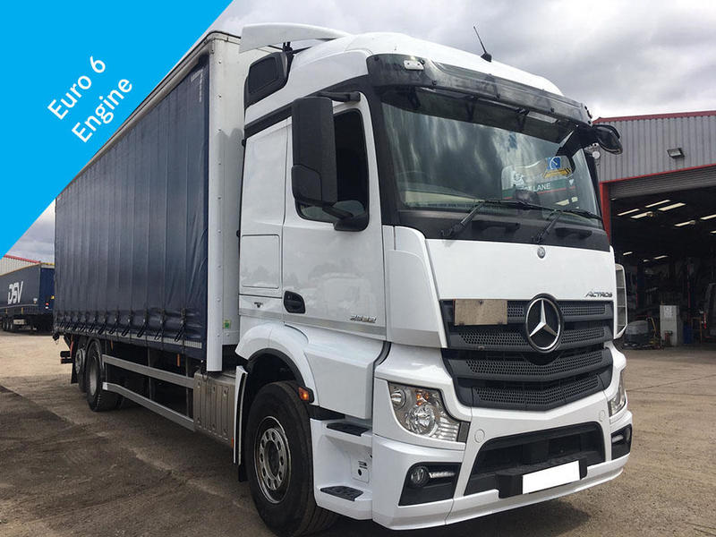 Mercedes-Benz Actros 2532 Curtain Sider (VUP)