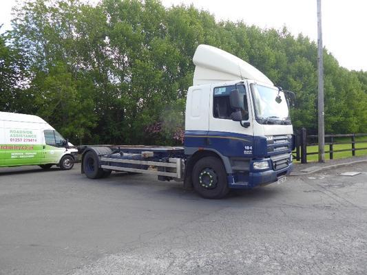 18 TONNE SLEEPERCAB CHASSIS