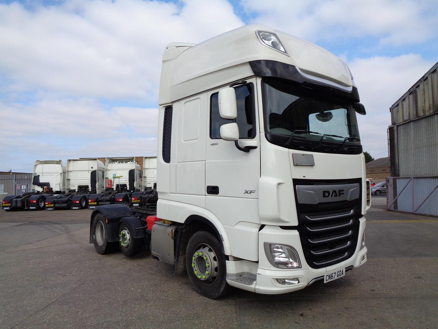 2018 (67) DAF FTPXF-480 Super Space Cab