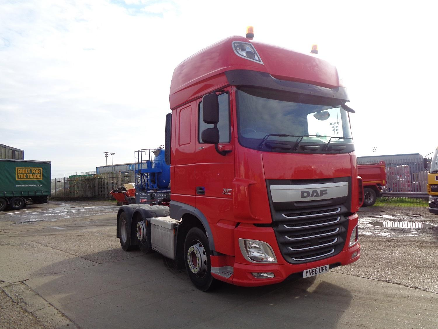 2016 (66) DAF FTGXF-460 Super Space Cab