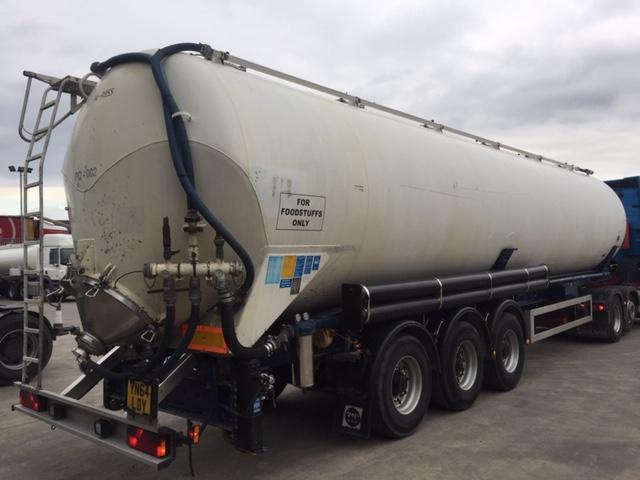 Feldbinder Powder Tanker