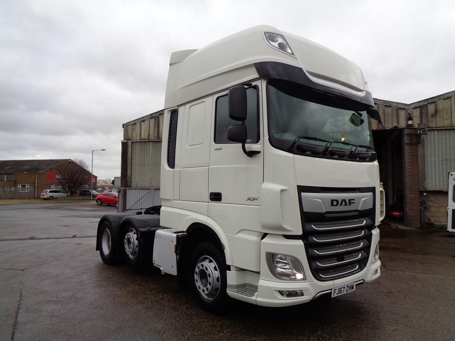 2017 (67) DAF FTGXF-480 Super Space Cab FIRST CHOICE