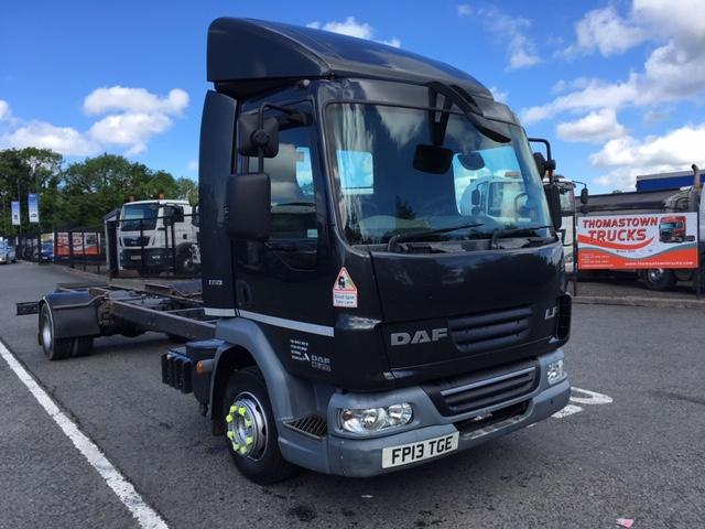 2013 DAF LF45-210 DAYCAB 24FT CHASSIS & CAB