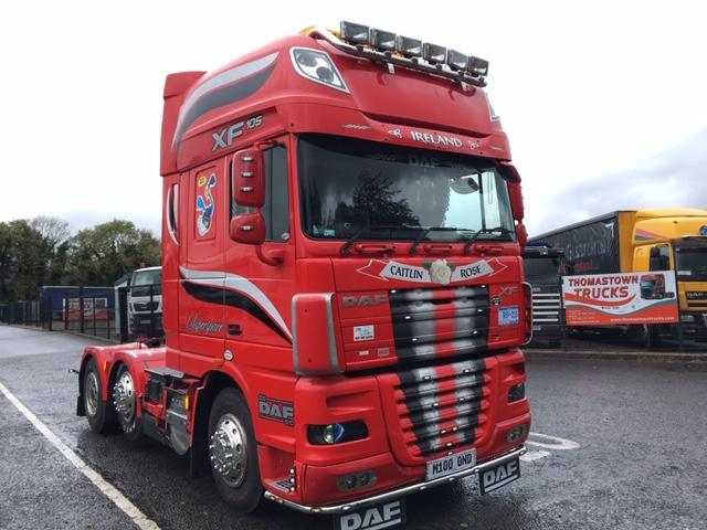 2011 DAF XF105-460 SUPERSPACE 6X2 T/UNIT