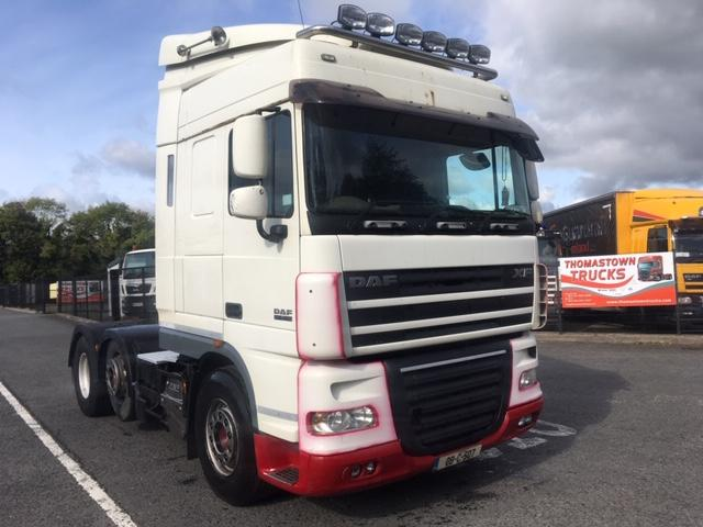 2008 DAF XF105- 460 SPACECAB 6X2 T/UNIT.
