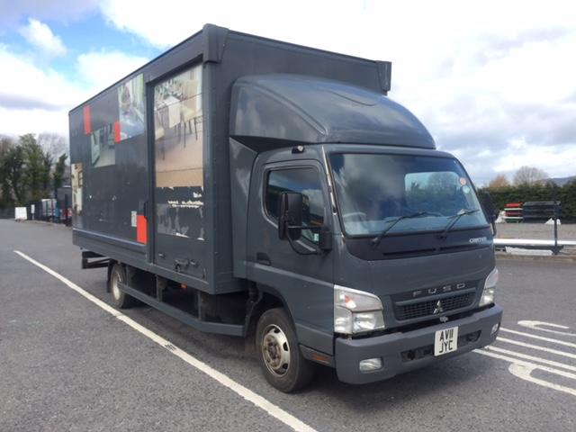 2011 MITSUBISHI FUSO CANTER 7C15 DAYCAB 20FT GRP BOX,