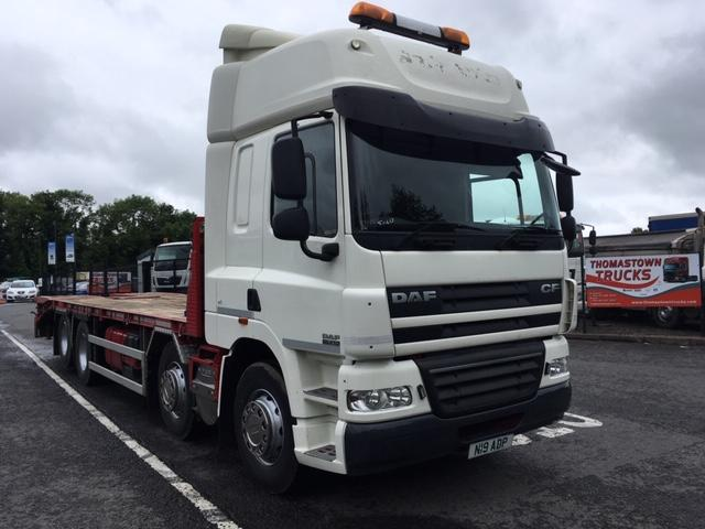 2011 DAF CF85-410 SPACECAB 8X2 31FT CHEESEWEDGE PLANT BODY