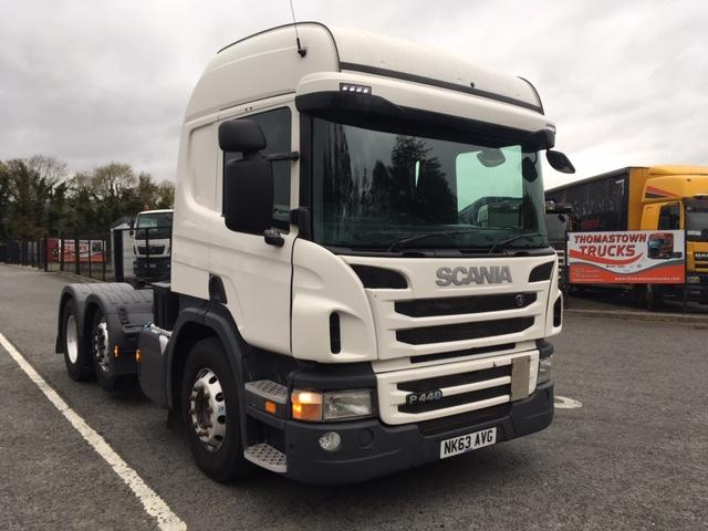 2013 SCANIA HIGHLINE R440 6X2 T/UNIT,