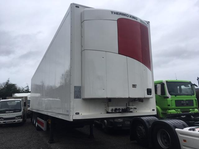 2012 SCHMITZ REFRIDGERATED TRAILER, THERMOKING SLK MOTOR,