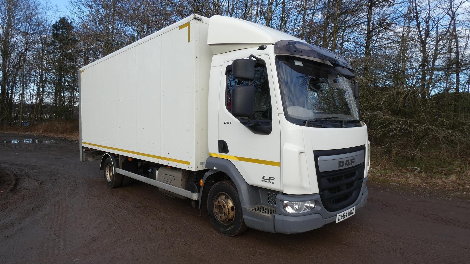 Euro 6 2014 64 DAF LF 180 Box Truck For Sale UK, LEZ and ULEZ Compliant, MOT 2021, Ready to go!!!!