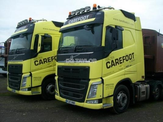 2017 VOLVO FH 460 EURO 6 GLOBETROTTER LIGHTWEIGHT 6X2 UNITS (CHOICE OF 7)