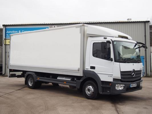 2015,15 reg Mercedes-Benz Atego 1018 10 Tonne 20 Foot 4ins Box c/w Taillift