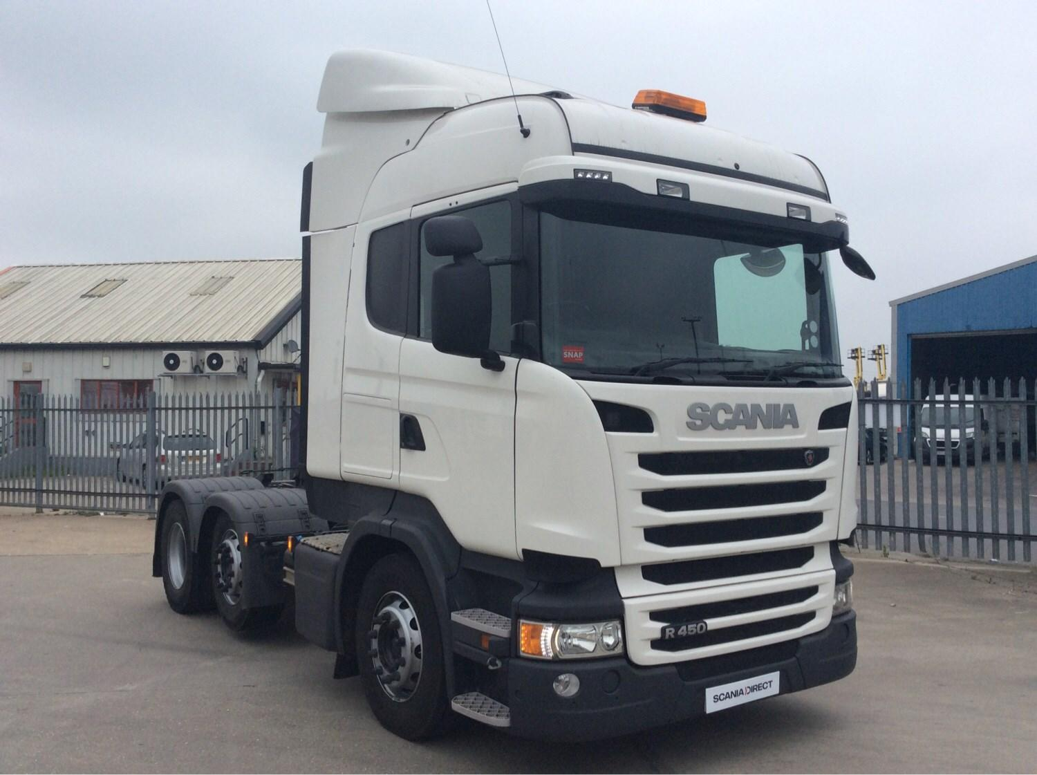2015 Scania R Series 450HP 6X2/4 High Roof Sleeper