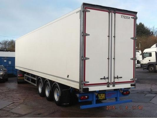 2013 LAWRENCE DAVID 13.6M SDC CHASSIS 4.2M O/HEIGHT GRP BOX TRAILER in MILTON KEYNES