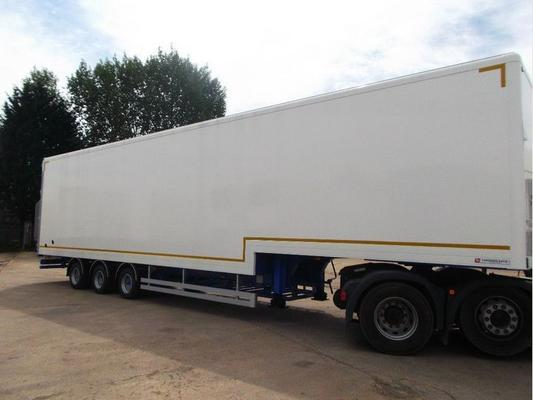 2018 Lawrence David 13.6M SDC CHASSIS 4.0M GRP STEPFRAME BOX TRAILER in MILTON KEYNES