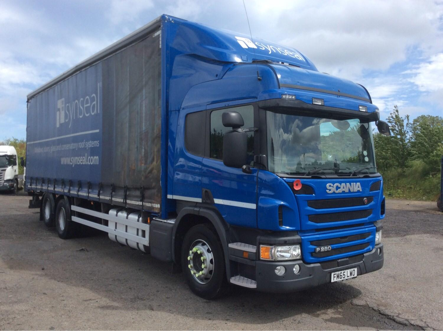 2015 Scania P Series 280HP 6X2 High Roof Sleeper