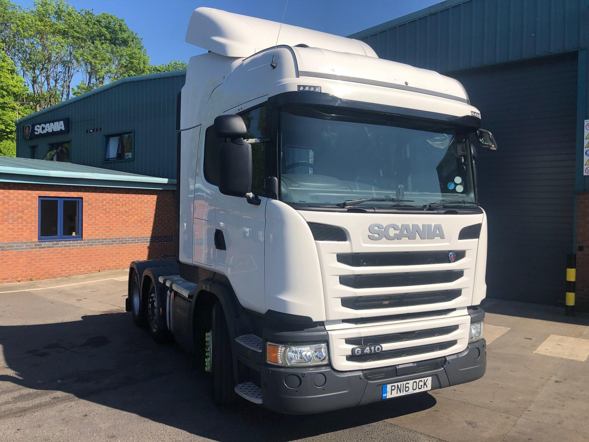 2016 Scania G Series 410HP 6x2/2 High Roof Sleeper