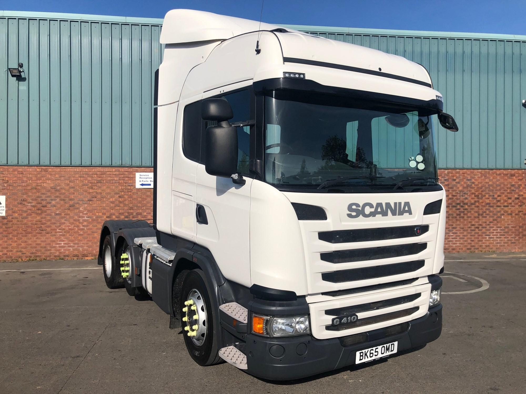 2015 Scania G Series 410HP 6x2/2 High Roof Sleeper