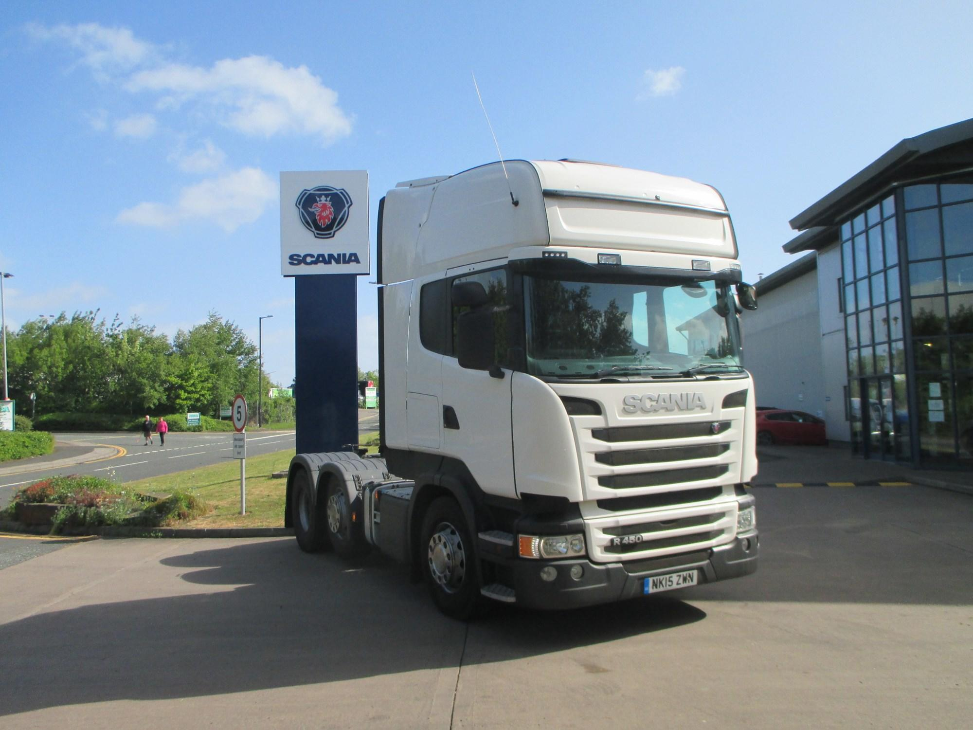 2015 Scania R Series 450HP 6x2/2 Topline