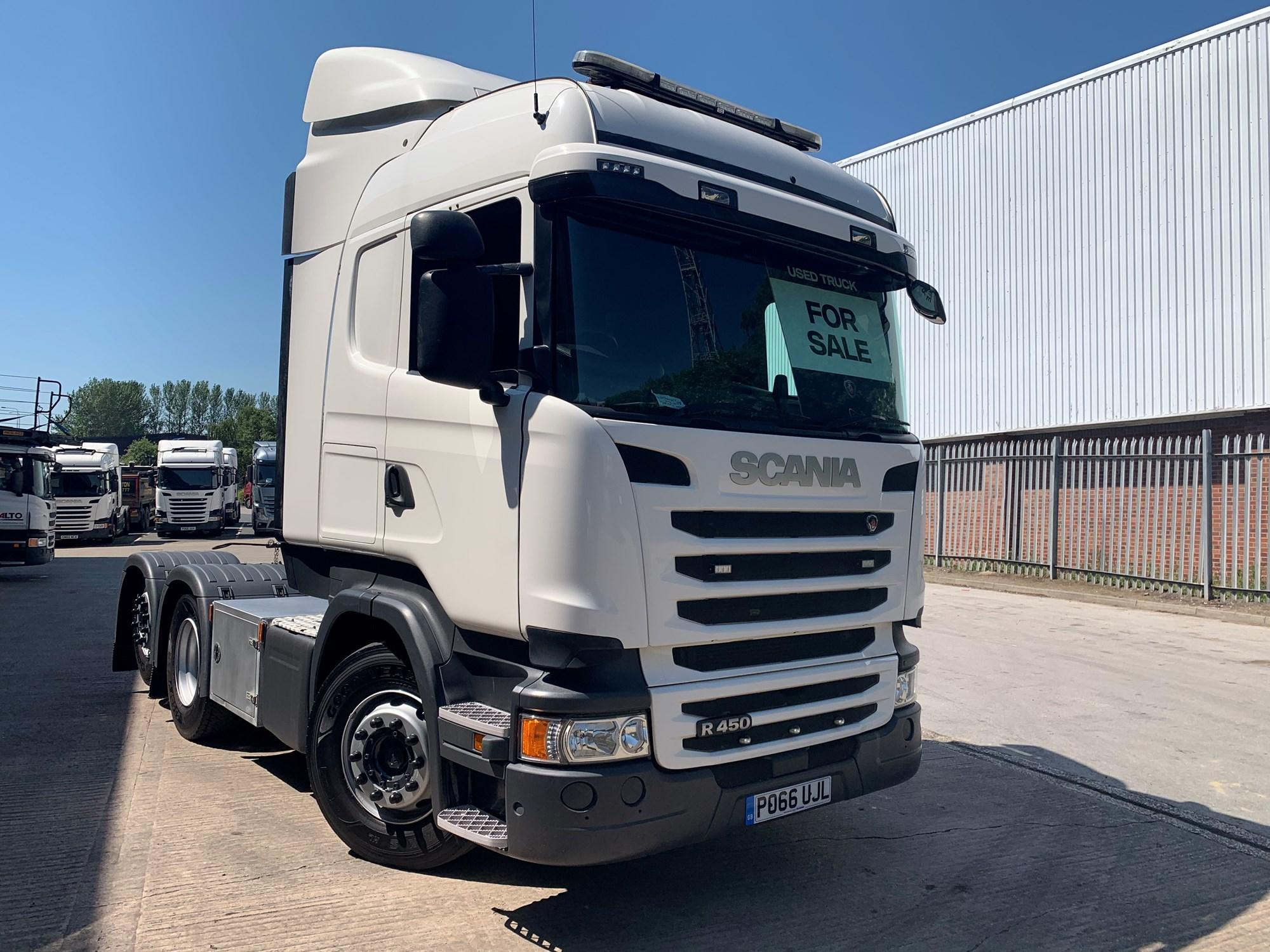 2016 Scania R Series 450HP 6X2 High Roof Sleeper