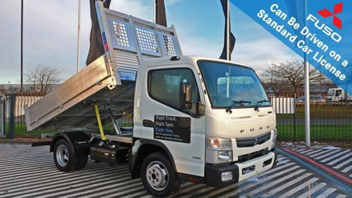 FUSO Canter 3C13 (Manual) 3.5t 2500 Dropside Tipper