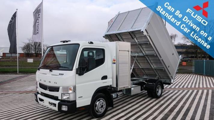 FUSO Canter 3C15 (Duonic - Automatic) 3.5t 3400 Arbor Tipper Body