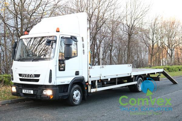 IVECO 75E16 WINCH FLATBED RECOVERY (2011)