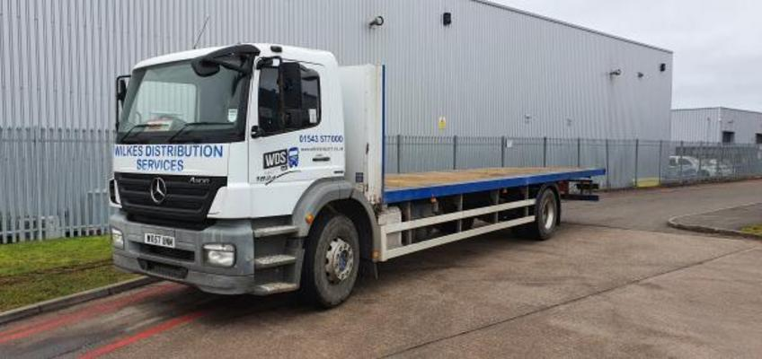Mercedes Axor 1824 18 Ton Flatbed Other 2007