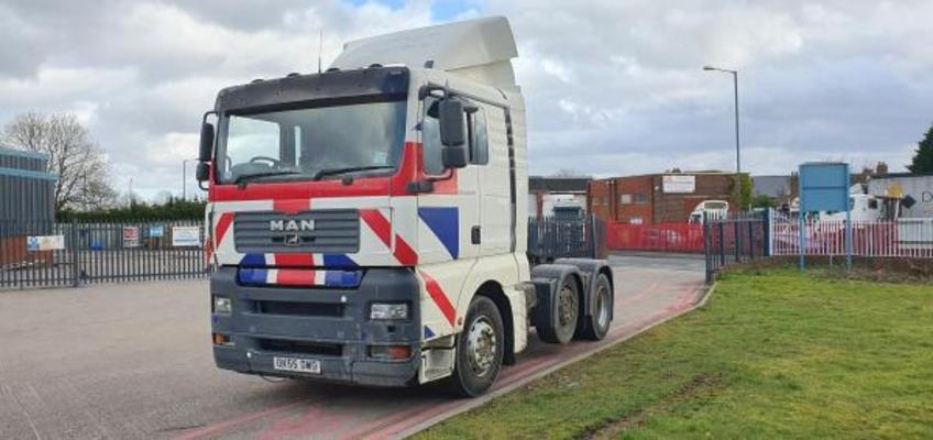 MAN 26.430 BLS HRS LONG HAUL 6x2 Unit Tractor Unit 2005