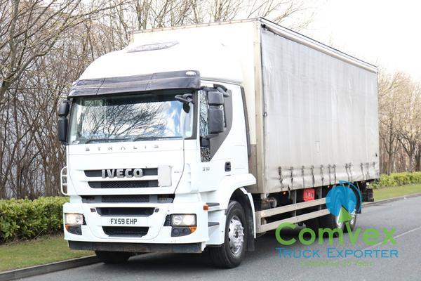 IVECO STRALIS 310 6X2 REARLIFT CURTAIN (2010)