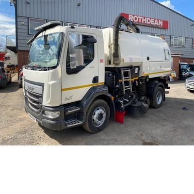 DAF LF220 EURO 6 ROAD SWEEPER 2014