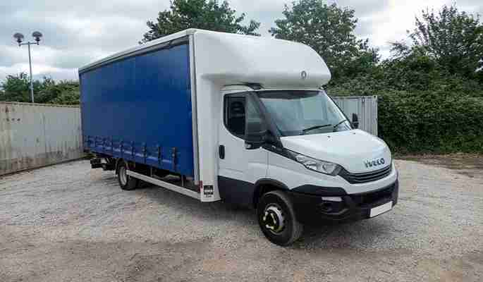 Iveco Daily 70C18 Curtain Side with Tail Lift 2019 (19)