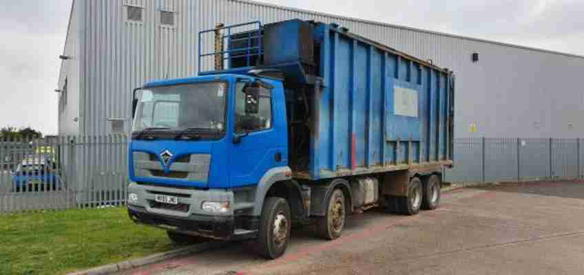 Foden Alpha 3000 8x4 Ejector Other 2005